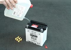STEP 2-Ⅰ-3 電解液の注入