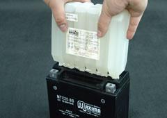STEP 2-Ⅱ-2 電解液の注液確認